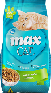 Ração Max Cat Castrados