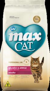 Ração Max Cat Adulto Salmão & Arroz