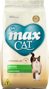 Ração Max Cat Castrados Frango