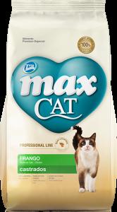 Max Cat Castrados Pollo