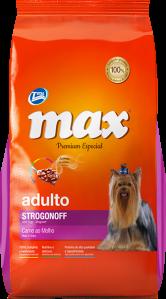 Max Premium Especial - Strogonoff Carne con Salsa