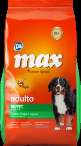 Max Premium Especial - Buffet: Pollo y Vegetales