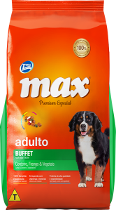 Ração Max Premium Especial – Adultos Cordeiro, Frango e Vegetais