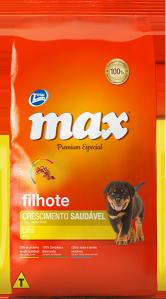 Ração Max Premium Especial – Filhotes Crescimento Saudável Carne