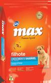 Ra��o Max Premium Especial - Crescimento Saud�vel Cordeiro & Frango