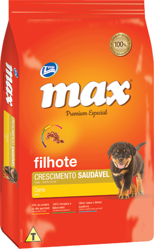 Ra��o Max Premium Especial - Crescimento Saud�vel Carne