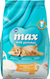Ração Max Milk Gatinhos Substituto do Leite Materno