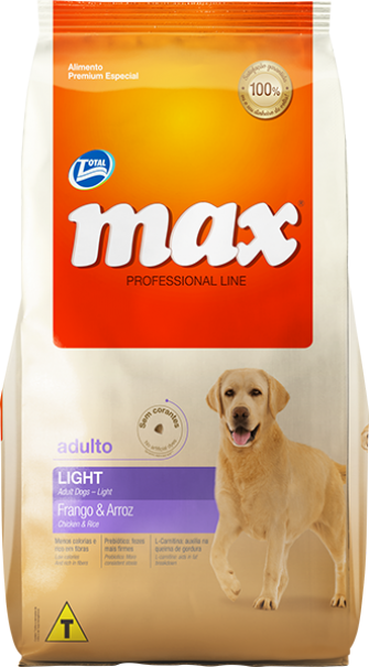 Ração Max Performance Adulto Light - Frango e Arroz