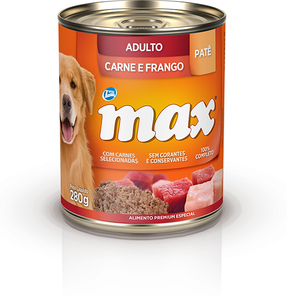 Ração Max Carne e Frango