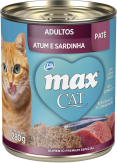 Ração Max Cat Atum e Sardinha