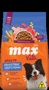 Ração Max Vita Adulto Selection Carne e Frango