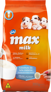 Ração  Max Milk Substituto do Leite Materno