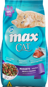 Ração Max Cat Nuggets