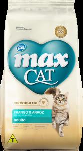 Ração Max Cat Adulto Frango & Arroz