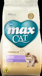 Ração Max Cat Filhote Frango