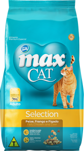 Ração Max Cat Mix Selection