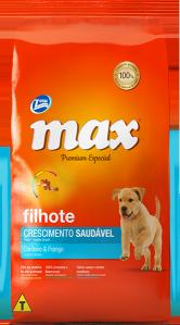 Ração Max Premium Especial Adultos Crescimento Saud�vel Cordeiro e Frango