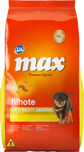 Ração Max Premium Especial Adultos Crescimento Saud�vel Carne