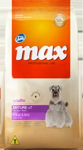 Ração Max Professional Line Adultos Mature +7 Frango e Arroz